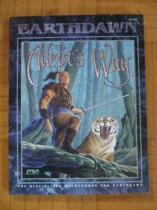 EARTHDAWN – The Adept s Way – 6106 English – FASA Adventure guide book Earth Daw