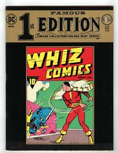 Famous First 1st Edition F-4 1974 Reprint of Whiz Comics 1940 Captain Marvel