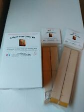 Hahnemuhle Wrap Corner Kit And 8 inch Stretcher Bars ( 4 packs/2 bars per pack)