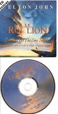 ELTON JOHN RARE FRENCH CDS IN CARD PS CAN YOU FEEL THE LOVE TONIGHT