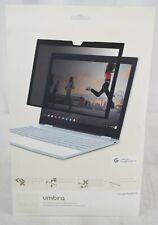 Moshi Umbra Google Pixelbook laptop 2-way privacy screen protector - New
