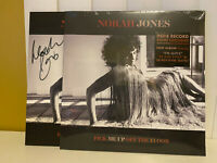 SEALED Norah Jones Pick Me Up Off The Floor SIGNED Vinyl LP Color Autographed