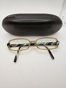Vintage Vera Wang Eyeglass Glasses and Hard Shell Case
