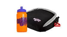 BubbleBum Car Booster Seat - Travel Happy Bundle - Black