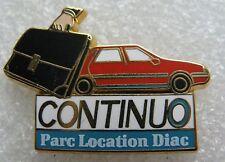 Pin's  RENAULT Continuo Parc Location DIAC Arthus B #1862