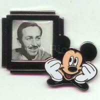Disney DS Countdown to the Millennium Series #101 Walt Disney and Mickey Pin