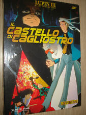 DVD LUPIN III THE 3rd IL CASTELLO DI CAGLIOSTRO FILM COLLECTION SEALED NUOVO