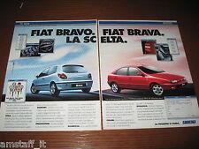 *AN72=FIAT BRAVO BRAVA=PUBBLICITA'=ADVERTISING=WERBUNG=COUPURE=