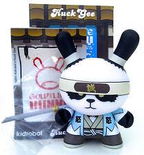 "DUNNY 3"" GOLD LIFE SERIES HUCK GEE 2/16 ORNERY PANDA SHINESENGUMI 2011 KIDROBOT"
