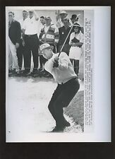 Original March 23 1963 Sam Snead Out of Sand Golf Wire Photo