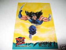 1995 Fleer ULTRA X-Men Alternate X: WEAPON-X Promo TEAM CARD (720 Cards Lot)