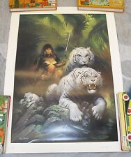 Ken Kelly The Tigress Lithograph Limited Edition Signed Artist Proof AP #1/45 T