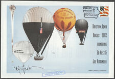 ED YOST SIGNED - KITTENGER BALLOON COVER BRISTOW, IA 1/500 MADE BN4236