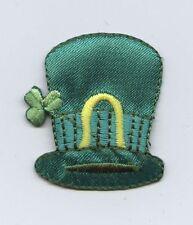 Iron-On Applique Embroidered Patch Large Irish Leprechaun Hat St Patricks Day