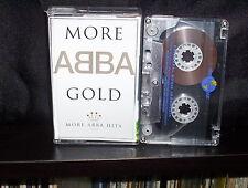 ABBA MORE ABBA GOLD - ULTRA RARE INDONESIAN CASSETTE TAPE NM
