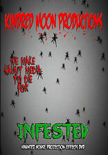 Infested Halloween Projection Effects DVD Haunted house props