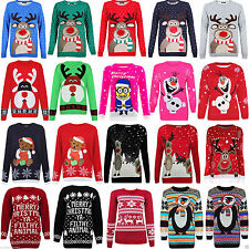 Women's Acrylic Crew Neck None Hip Length Jumpers & Cardigans