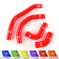 SILICONE RADIATOR//COOLANT HOSE RD CAN AM DS450 2009-2012 2010 2011 Red