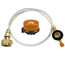 Gastank Adapter Schlauch Set Anschluss Gaskartusche für Campingkocher Adapter