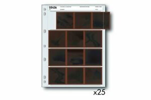 Print File Negative Sleeves 120 Film - 25 Pack - FLAT-RATE AU SHIPPING!