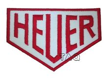 HEUER MOTORSPORTS RACING, BIKER EMBROIDERED Iron/Sew on Patch/ Badge/ Logo 211