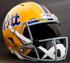 *CUSTOM* PITTSBURGH PITT PANTHERS NCAA Riddell Speed AUTHENTIC Football Helmet