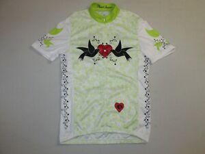 Pearl Izumi Junior Girl's LTD Jersey * White/Lime * XLarge * FREE SHIPPING!!