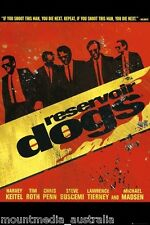 RESERVIOR DOGS MOVIE (LAMINATED) POSTER (91x61cm) WALK NEW LICENSED ART