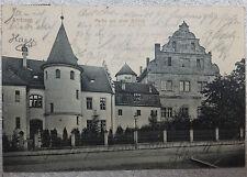 AK  Amberg Partie am Schloss Litho gel. 1911