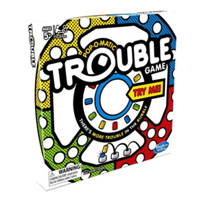 Trouble Pop-O-Matic Board Game NEW