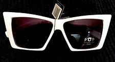 New! Pop Eyewear UV400 Cyber Punk Sunglasses! Rock Oddity Fashion Future Rave