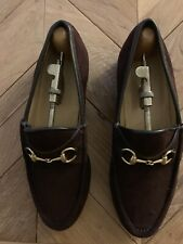 b6f0f386d54 Gucci Women s Suede Loafers for sale