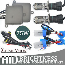 75W Slim HID Xenon Ballast Conversion Kit 880 881 H1 H3 H7 H8 H9 H11 9005 9006
