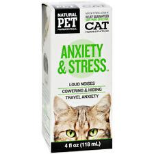 Natural Pet Pharmaceuticals (by KingBio) Stress Control for felines - 4 fl. Oz
