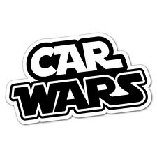 CAR WARS Sticker Decal Funny Vinyl Car Bumper #6796EN