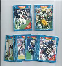 9 1989 Pro Set Football Factory Sealed 21 card Traded Set  Sterling Sharpe RC