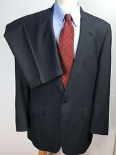 Brooks Brothers GlenPlaid Two Pice 43L (36X30) Blue Single Vented Two Buttn Suit