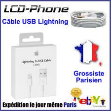 Câble USB Lightning Apple 1M valeur 24e Charge iPhone 6/7/8/X/SE/5C/S/+PLUS/SE