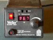 Weller EC2001 ESD Solder Station - No Iron