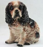 Vintage Lefton Ceramic Cocker Spaniel Dog Planter Figurine H4625