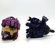 Marvel Legends Sentinel Haslab Battle Damaged Head and Hand ONLY In Hand