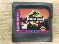 Jurassic Park (Sega Game Gear, 1993) CARTRIDGE ONLY CLEANED. TESTED. WORKING.