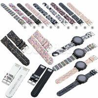 26mm Printed Silicone Quick Release Wrist Watchband Straps for Garmin Fenix 5X