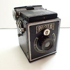 Pilot 6 Antique Box Camera - Germany - Vintage 120 Film