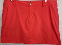 Columbia Women's Skirt Size 22W Nylon/Spandex Belted Pockets Omni-shield NWOT