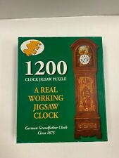 1200 Piece Working Grandfather Clock Jigsaw Puzzle