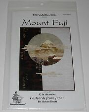 Story Quilts Mount Fuji Japan Wall Quilt Pattern and Instructions UNCUT