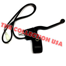 Left Brake Lever 2 Wire Black With Plug Razor W15128190011 Electric Scooter