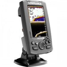 Lowrance Fishfinder Hook-4X with Downscan 455-800 kHzTransducer #62320192