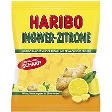 "4 x HARIBO ""Ginger-Lemon""  (4 Bags x 175g) = 1.5lbs    **FREE SHIPPING**"